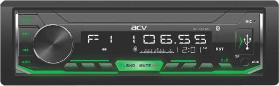 Автомагнитола ACV AVS-816BMS 1DIN 4x50Вт автомагнитола acv avs 812r 1din 4x50вт