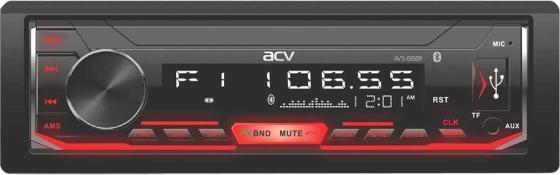 Автомагнитола ACV AVS-816BR 1DIN 4x50Вт автомагнитола acv avs 812r 1din 4x50вт
