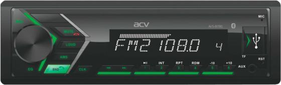 Автомагнитола ACV AVS-817BG 1DIN 4x50Вт автомагнитола acv avs 812r 1din 4x50вт