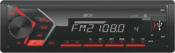 Автомагнитола ACV AVS-817BR 1DIN 4x50Вт автомагнитола acv avs 812r 1din 4x50вт