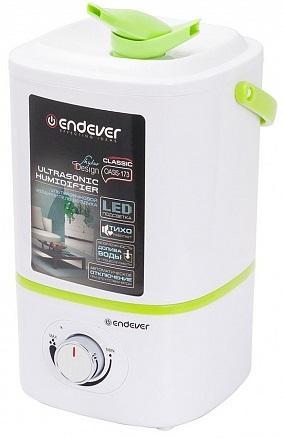 173-Oasis Ультразвуковой увлажнитель воздуха, Endever Мощность 20 Вт, производительность- 280 мл/час цена и фото