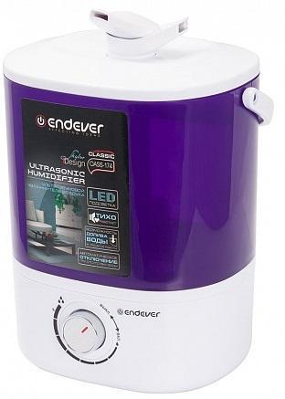 174-Oasis Ультразвуковой увлажнитель воздуха, Endever Мощность 20 Вт, производительность- 280 мл/час цена и фото