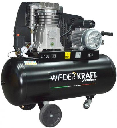 Компрессор WIEDERKRAFT WDK-91053 поршневой масляный, 2200 Вт, 423л/мин, 10бар