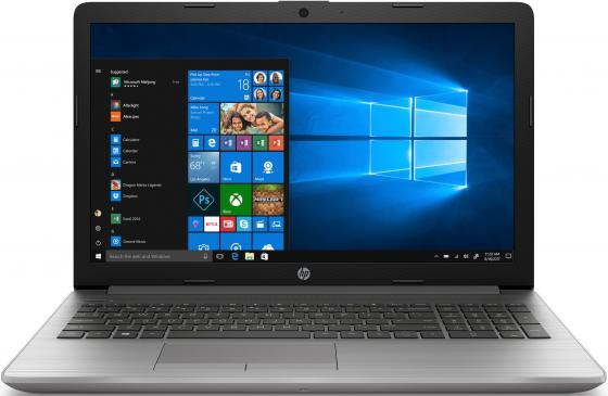 "Ноутбук 15.6"" FHD HP 250 G7 silver (Core i5 8265U/8Gb/256Gb SSD/DVDRW/VGA int/DOS) (6UK94EA) ноутбук hp 250 g5 core i5 6200u 8gb 256gb ssd r5 m430 2gb15 6 dvdrw wifi bt dos silver"