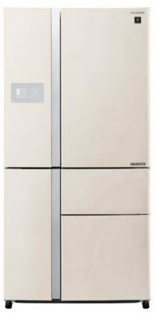 лучшая цена Холодильник Sharp SJ-PX99FBE бежевый (пятикамерный)