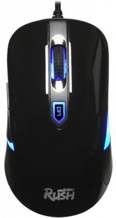 Мышь игровая проводная Smartbuy RUSH 711 черная [SBM-711G-K] мышь беспроводная smartbuy one 333ag k черная [sbm 333ag k]