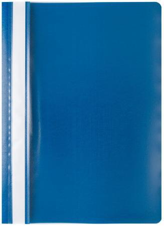 Фото - Папка-скоросшиватель, синяя, ф. А4 папка меню ф а4 pvc ассорти