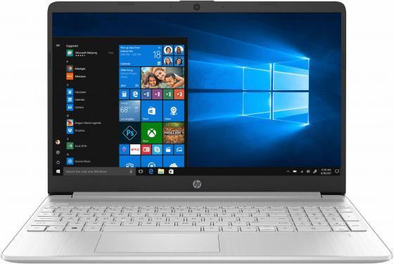 """HP15s-fq0018ur (17.9mm, Msft modern) 15.6""""(1366x768)/Intel Core i3 7020U(2.3Ghz)/4096Mb/256SSDGb/noDVD/Int:Intel HD Graphics/war 1y/Natural Silver/W10"""