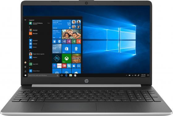 Ноутбук HP 15s-fq0020ur/s 15.6 1920x1080 Intel Core i3-7020U 256 Gb 8Gb Intel HD Graphics 620 серебристый Windows 10 Home 7MW76EA
