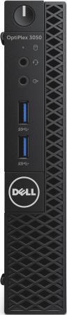 Купить Dell Optiplex 3050 MFF Intel Core i3 6100T(3.2Ghz)/8192Mb/256SSDGb/noDVD/Int:Intel HD Graphics 630/BT/WiFi/war 3y/W10Pro + VGA, TPM