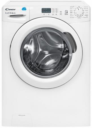 Стиральная машина CANDY/ Узкая стиральная машина, 85x60x40, Smart Touch, загрузка фронтальная, 5кг, до 1000 об/мин при отжиме,таймер отсрочки старта, LED индикация, белая