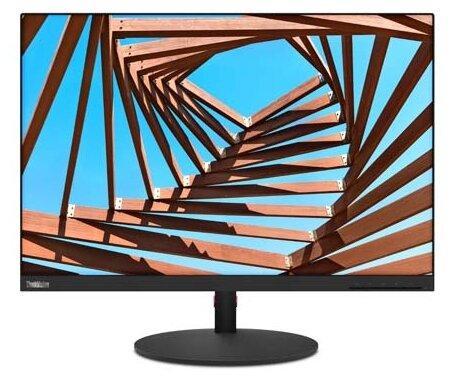 """Монитор 25"""" Lenovo ThinkVision T25d-10 черный IPS 1920x1200 300 cd/m^2 4 ms VGA HDMI DisplayPort Аудио USB 61DBMAT1EU"""