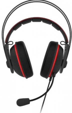 Гарнитура ASUS TUF GAMING H7 CORE RED гарнитура kworld gaming s13