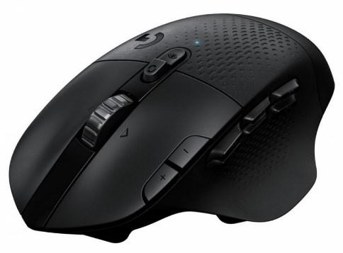 Мышь беспроводная Logitech G604 чёрный USB мышь logitech g g604 black wireless черный