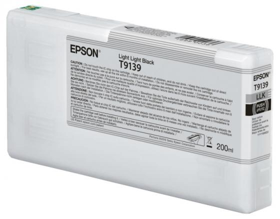 Epson I/C Light Light Black (200ml) epson i c light cyan 200ml