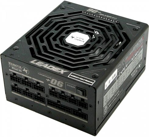 Super Flower Power Supply Leadex Titanium, 750W, ATX, 140mm, 10xSATA, 4xPCI-E(6+2), 2xPCI-E(6), APFC, 80+ Full Modular