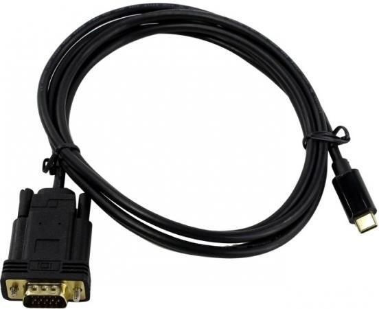 Фото - Переходник VGA 1.8м VCOM Telecom CU421C-1.8M круглый черный thor 46