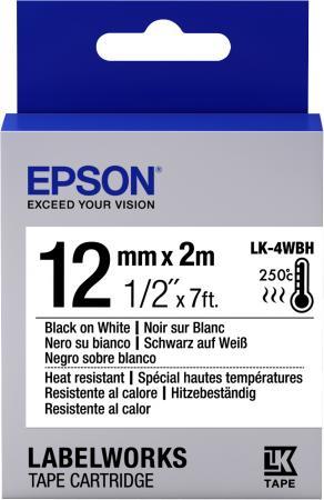 Фото - Epson Tape LK-4WBH Heat Resist Blk/Wh 12/2 2pcs heat press machine silicone pad mat 50x70x1cm high temperature resistant for heat transfer sublimation