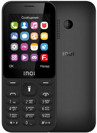 купить Мобильный телефон Inoi 241 черный 2.4 32 Мб Bluetooth дешево