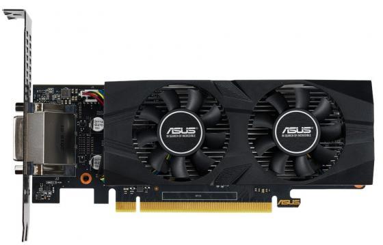 Видеокарта ASUS GeForce GTX 1650 OC edition PCI-E 4096Mb GDDR5 128 Bit Retail GTX1650-O4G-LP-BRK цена и фото