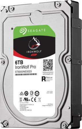"Жесткий диск Seagate Original SATA-III 6Tb ST6000NE000 NAS Ironwolf Pro (7200rpm) 256Mb 3.5"" цена и фото"