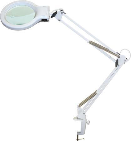 цена на Светильник настольный Трансвит ЛЕДА С20-036 ПДБ50-8-036 (LEDA/WH) на струбцине E27 белый 8Вт