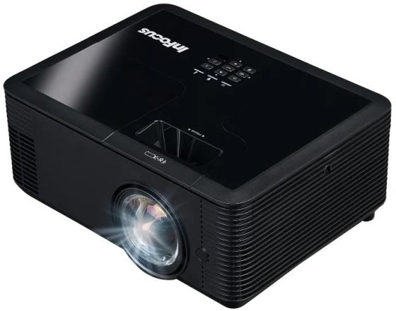 Фото - Проектор INFOCUS IN138HDST DLP, 4000 ANSI Lm,Full HD(1920x1080), 28500:1, 0.499:1, 3.5mm in, Composite video, VGA,HDMI 1.4ax3 (поддержка 3D), USB-A (SimpleShare и др.),12V trigger,лампа 15000ч.(ECO mode),3.5mm out,Monitor out(VGA),RS232,RJ45,21дБ, 3.2кг. проектор infocus in136 dlp 1280x800 4000 ansi lm
