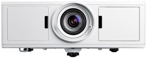 Фото - Лазерный проектор Optoma ZW500T DLP,WXGA(1280*800);5000 ANSI lumens;300000:1;LensShift H+/-10%;V+20/-10%;HDMIx1;VGA x1;AudioIN x1;Mic x1;VGA Out x1;AudioOut x1;RS232;RJ45;HDBaseT;;USB A(1,5A);USB B;12V Trigger;2 x10W;28dB;10,7kg; БЕЛЫЙ (E1P1A1AWE1Z1) проектор nec [np4100w линза np07zl] 1 33 1 79 dlp 5500 ansi lumen wxga 2100 1 с dinamicblack сдвиг линз система 2 х ламп 24 7 lan rj45 dvi i hdcp 5bnc 17 5 кг 2 места