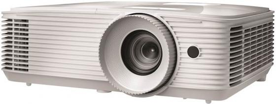 Проектор Optoma EH335 Full 3D; DLP, HD(1920*1080),3600 ANSI Lm, 20000:1;TR=1.48-1.62:1; HDMI (1.4a) x2+MHL; VGA IN; Composite; AudioIN 3.5mm; Out x1; AudioOUT RJ45;RS232; USB A(Power 1.5A); 10W; 27 дБ; 2.93 kg;(E1P1A0PWE1Z1)