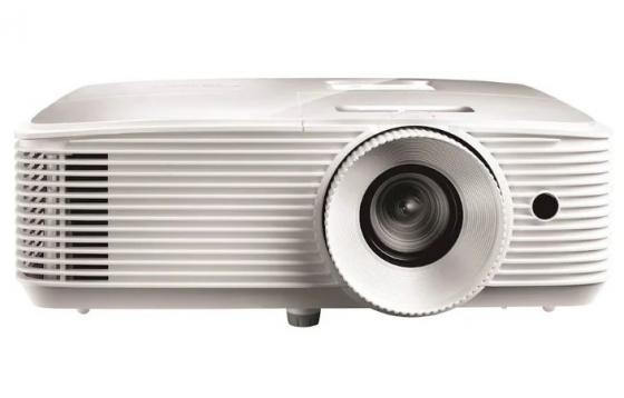 Фото - Проектор Optoma EH412 (Full3D),DLP, Full HD(1920*1080),4500 ANSI Lm,22000:1; TR 1.12-1.47:1;HDMI x2; VGA IN x1; AudioIN x1 3,5mm; AudioOut; USB-A 1,5 A; RS232;10W x1; 26dB; 2,91 кг; белый richard ford a handbook for travellers in spain