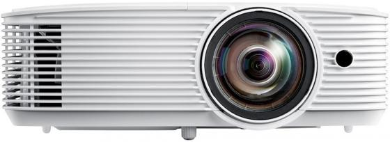 Фото - Проектор Optoma W318STe Full 3D;DLP,WXGA (1280*800),3800 ANSI Lm,22 000:1,Короткофокусный TR 0.521:1;HDMI 1.4a x2+MHL;VGA (YPbPr/RGB)x2;Composite x1;MicINx1; AudioIN;VGA Out;AudioOut;USB-A power 1A;RS232;RJ45x1;10Wx1;26dB;3.0 кг. белый [E1P1A29WE1Z1] electric kettle home upset glass boiled automatic power off