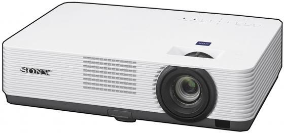 Проектор Sony [VPL-DX221] 3LCD (0,63), 2800 ANSI Lm, XGA, 4000:1, лампа до 10000 ч., Zoom 1.3, Mini D-sub 15-pin(RGB/Y Pb Pr),HDMI, Композитный вход, USB(A) - Power Only, USB(B), 1Вт., 2.7 кг.