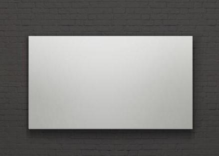 Фото - [LCT-100105] Экран Lumien Cinema Infinity рабочая/общая область 132x235 см (106), полотно Matte White обернуто вокруг рамы, 16:9 кеды мужские vans ua sk8 mid цвет белый va3wm3vp3 размер 9 5 43