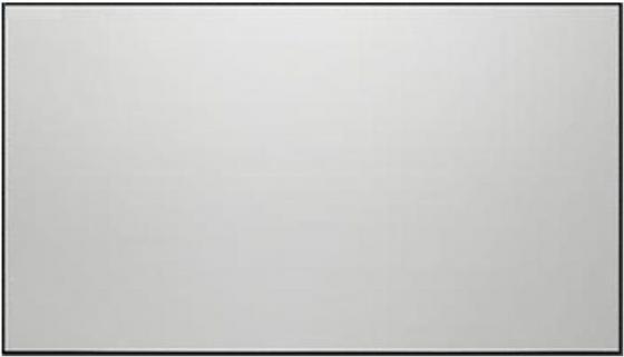 Фото - [LCTB-100104] Экран Lumien Cinema Thin Bezel 127x223 см (раб. область 125х221 см) (100) Matte White,тонкая алюминиевая рама 1 cм, 16:9 кеды мужские vans ua sk8 mid цвет белый va3wm3vp3 размер 9 5 43