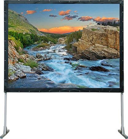Фото - [LMF-100130] Экран Lumien Master Fold 165x282 см (120), (раб. область 149х266 см) Front Projection + Rear Projection два полотна в комплекте, черн. кайма по периметру 16:9 front h670rt