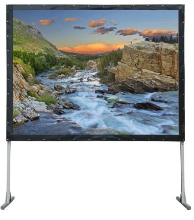 Фото - [LMF-100131] Экран Lumien Master Fold 203x348 см (150), (раб. область 187х332 см) Front Projection + Rear Projection два полотна в комплекте, черн. кайма по периметру 16:9 front h670rt