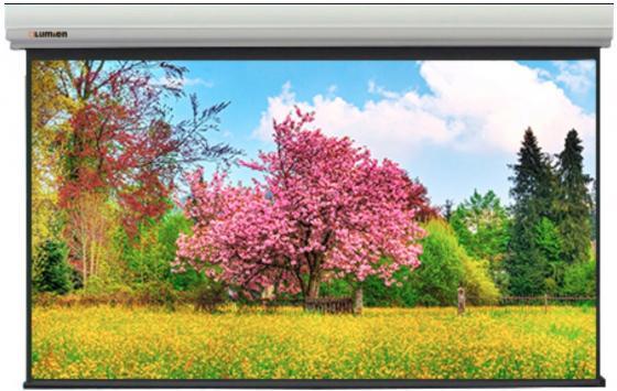 Фото - [LMLC-100101A] Экран с электроприводом Lumien Master Large Control 399x519 см (раб. область 381х501 см) (250) Matte White FiberGlass, черн. кайма по периметру, алюминиевый корпус, 4:3, IR и RF управление входит в комплект бычков в управление персоналом учебное пособие