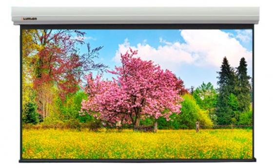 Фото - [LMLC-100108A] Экран с электроприводом Lumien Master Large Control 388x602 см (раб. область 370х592 см) (275), Matte White FiberGlass, черн. кайма по периметру, алюминиевый корпус, 16:10, IR и RF управление входит в комплект бычков в управление персоналом учебное пособие