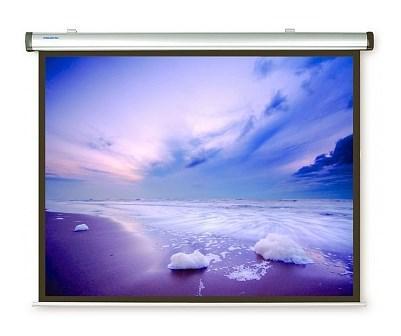 [10130729] Экран Projecta Dynamic Electrol 180х238 см Matte White дизайнерский корпус из алюминиевого профиля, с эл/приводом 4:3