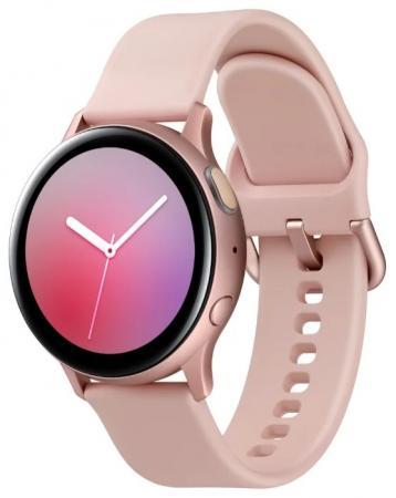 Смарт-часы Samsung Galaxy Watch Active2 40мм 1.2 Super AMOLED розовое золото (SM-R830NZDASER) смарт часы samsung galaxy watch active2 40мм 1 2 super amoled черный sm r830nzkaser