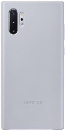 Чехол (клип-кейс) Samsung для Samsung Galaxy Note 10+ Leather Cover серый (EF-VN975LJEGRU) клип кейс oxy fashion fine для samsung galaxy j5 2016 прозрачный
