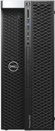 ПК Dell Precision T5820 MT Xeon W-2102 (2.9)/8Gb/1Tb 7.2k/DVDRW/Windows 10 Professional 64/GbitEth/950W/клавиатура/мышь/черный  - купить со скидкой