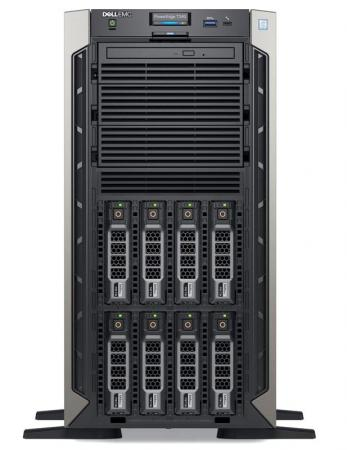 Сервер Dell PowerEdge T340 1xE-2134 1x16GbUD x8 1x1.2Tb 10K 2.5in3.5 SAS RW H330 FH iD9Ex 1G 2P 1x495W 3Y NBD (T340-4768) цена