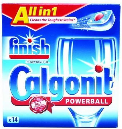 Средство для мытья посуды CALGONIT FINISH, д/ПММ, таблетки, 13 шт