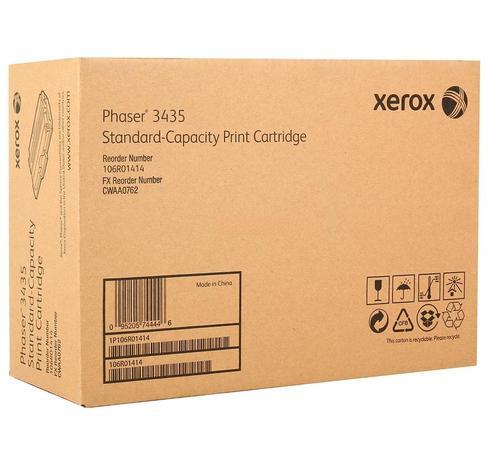 Тонер-картридж 106R01414 для лазерного принтера XEROX PHASER 3435, черный