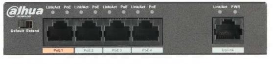 Коммутатор Dahua DH-PFS3005-4ET-36 lebel iau cream silky repair аромакрем шелковистой текстуры для укрепления волос 200 мл