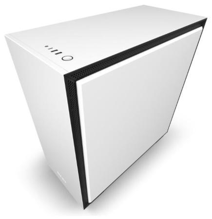Корпус ATX NZXT H710 Без БП белый CA-H710B-W1 корпус nzxt h710 white ca h710b w1
