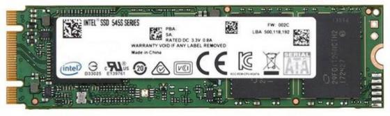 Купить Накопитель SSD Intel SATA III 256Gb SSDSCKKW256G8X1 545s Series M.2 2280