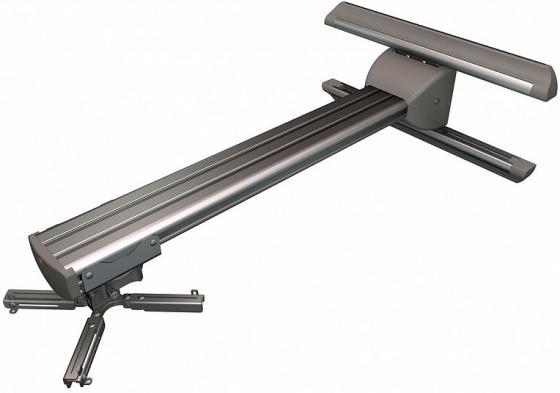 [STP-30S] Универсальное настенное крепление Wize Pro STP-30S для короткофокусных проекторов, макс. 430мм, длина штанги 76см, гориз.регул-ка 25cм, кабель-канал, наклон +/- 25°,поворот +/- 6°,вращение 360°,наклон штанги +/- 5°, до 23кг, серебрист.