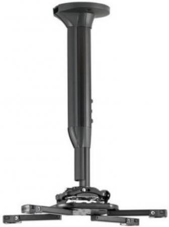 Фото - [KITEC030045B] Потолочный комплект для проектора Chief KITEC030045B нагрузка до 11,3 кг., длина штанги 30-45 см, микрорегулировки: пов. 3°, накл. 15°, вращ. 360°, черн. автокресло smart travel expert fix marsala 3 12 лет 15 36 кг группа 2 3 kres2072